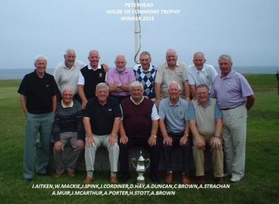 Peterhead HOC Cup Winners 2013