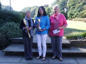 Twilight Winner Rosemary Dolman of Newburgh Bronze Winner Jackie Guthrie of Inverurie and Jean Taylor of Turriff Runner up in Silver.