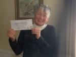 Helen Stewart of Peterhead was runner up in Bronze Division